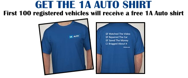 Do you want a free shirt? first 100 registered cars will receive a free 1a auto shirt. get it now/ ///>
