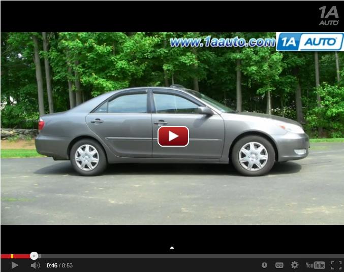 Camry Headlight Video