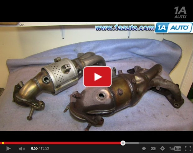How To Replace Exhaust Manifold And Catalytic Converter