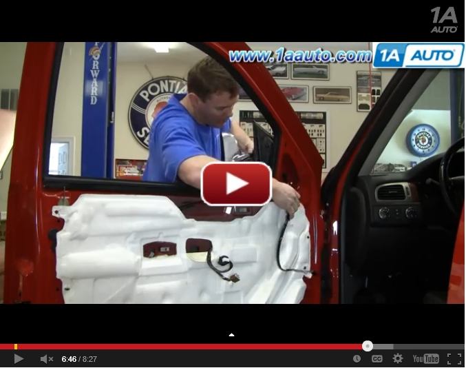 Chevy Avalanche Mirror Repair