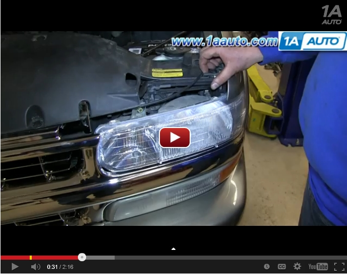 Tahoe Headlight Video